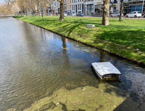 These drones look for trash in waterways