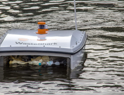 New floating drones could help fight plastic pollution