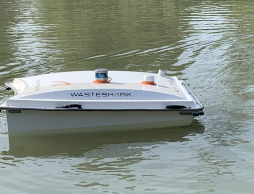 Meet WasteShark, the aquadrone taking a bite out of plastic waste